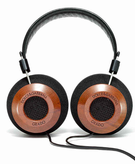 Dolce & Gabbana by GRADO Labs Mahogany Wood Headphones