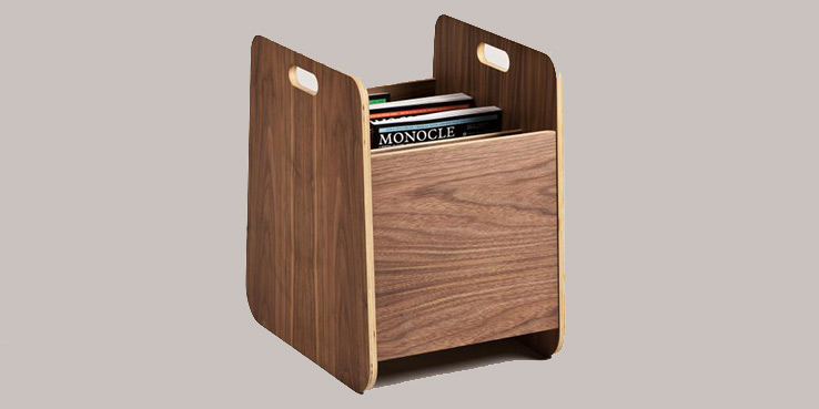 Monocle Magazine Rack by Hugo Passos