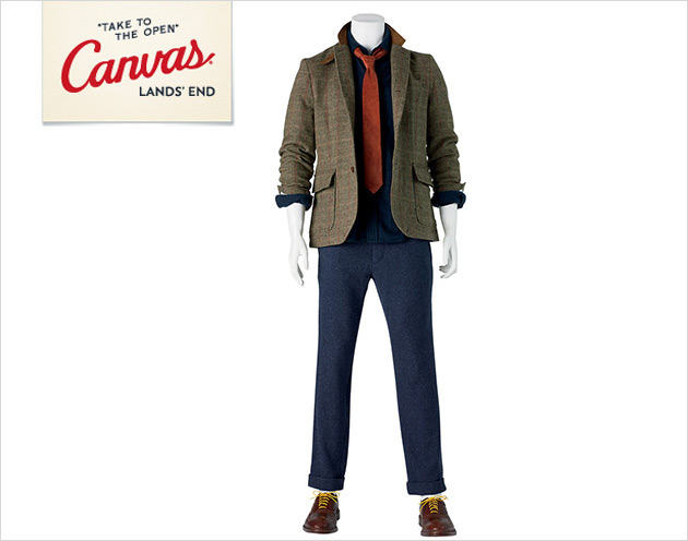 Canvas Lands' End Arrivals: Commuting and Business