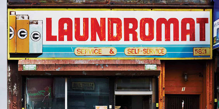 """LAUNDROMAT"" Photography Book by the Snorri Bros."
