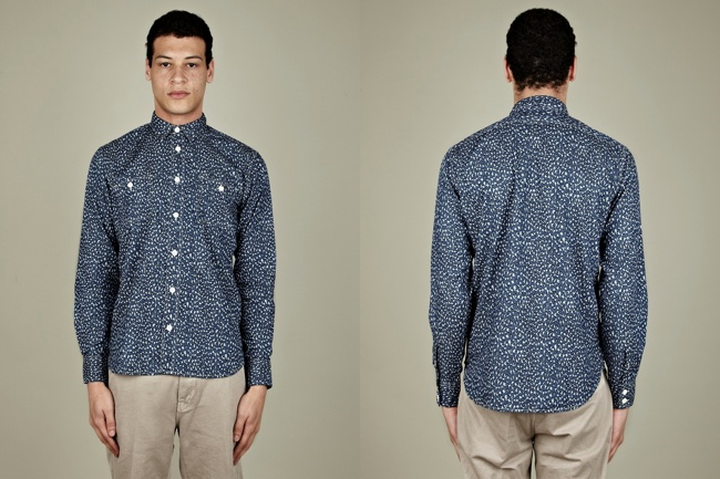 Levi's Made and Crafted Leopard Print Work Shirt