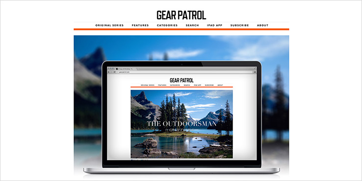 The all new Gear Patrol Now Online