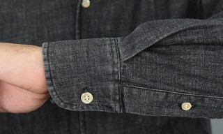Our Legacy 1950's Black Denim Shirt