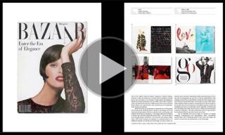 Watch   Phaidon Interview: Fernando Gutiérrez on Fabien Baron's Harper's Bazaar Work