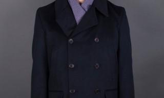 Seize sur Vingt Water-Resistant Cashmere Peacoat