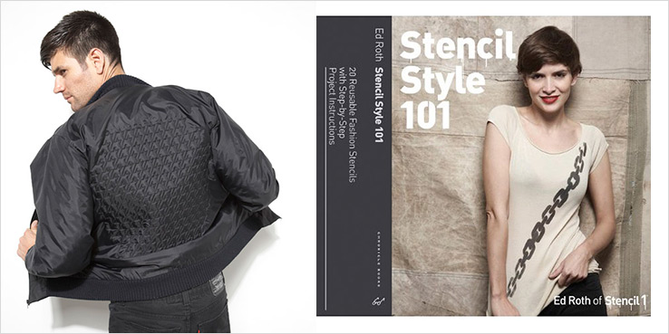 Stencil Style 101 Book: Quilt Your Own Bomber Jacket