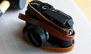 Tipton & Co. Leather Camera Straps