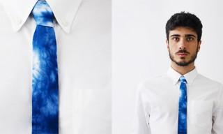 Upstate Hand Dyed Silk Tie