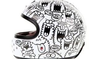 Kevin Lyons for Ateliers Ruby Limited Edition 'Le Castel' Helmet