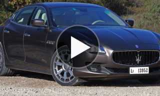 Maserati 2014 Quattroporte Night Testing Session
