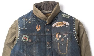 Neighborhood Trompe L'Oeil Jacket Motorcycle Club Jacket