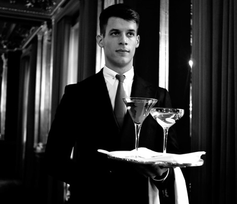 A. Sauvage Suits Up the Staff at Café Royal Hotel 2