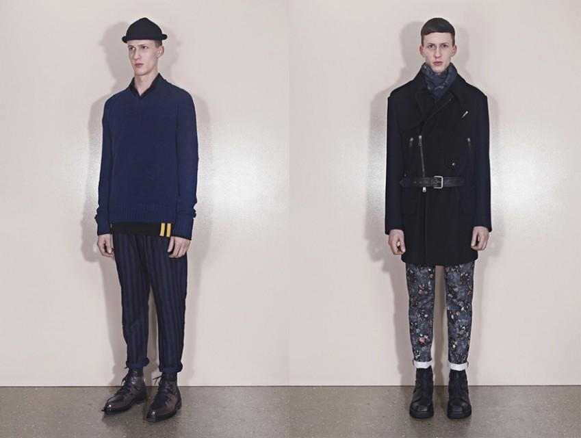 Alexander McQueen Fall Winter 2013 Menswear 2