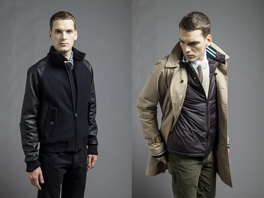 Baracuta Blue Label Men's Jackets Fall 2013 2