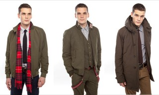 Baracuta Ivory Label Fall Winter 2013 Collection