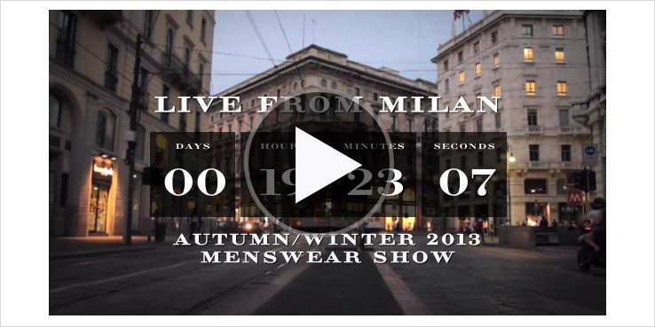 Burberry Prorsum Men's Fall Winter 2013 - Live Stream