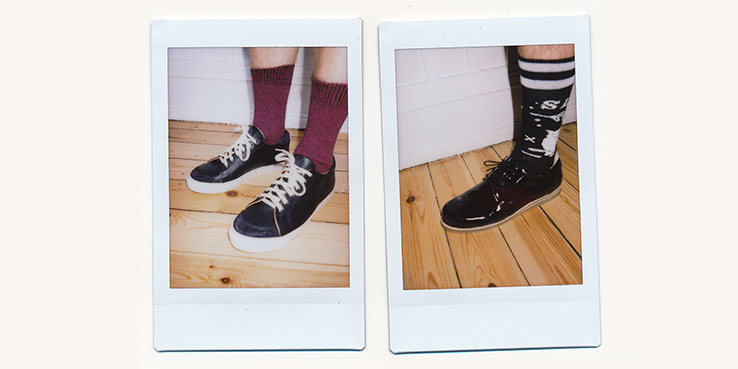 Democratique Socks for Soulland Fall Winter 2013 Collection 1