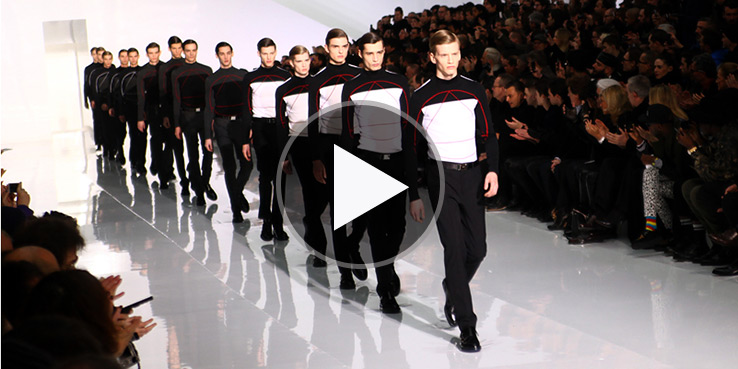Dior Homme Fall Winter 2013 Menswear Runway Show 1