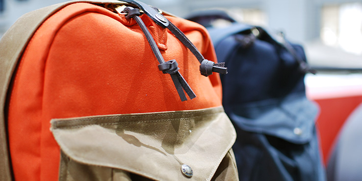 Filson Bags for Fall 2013 - Safety Orange Throughout 2