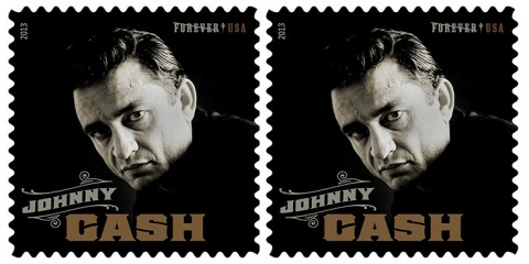 Johnny Cash Forever USPS Postage Stamp 1