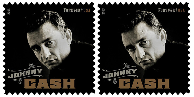Johnny Cash Forever USPS Postage Stamp 1
