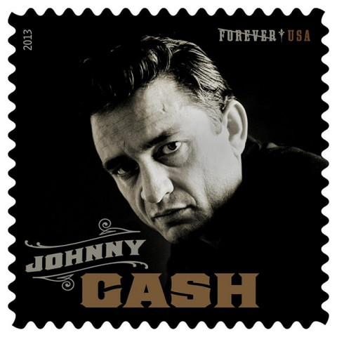 Johnny Cash Forever USPS Postage Stamp 2