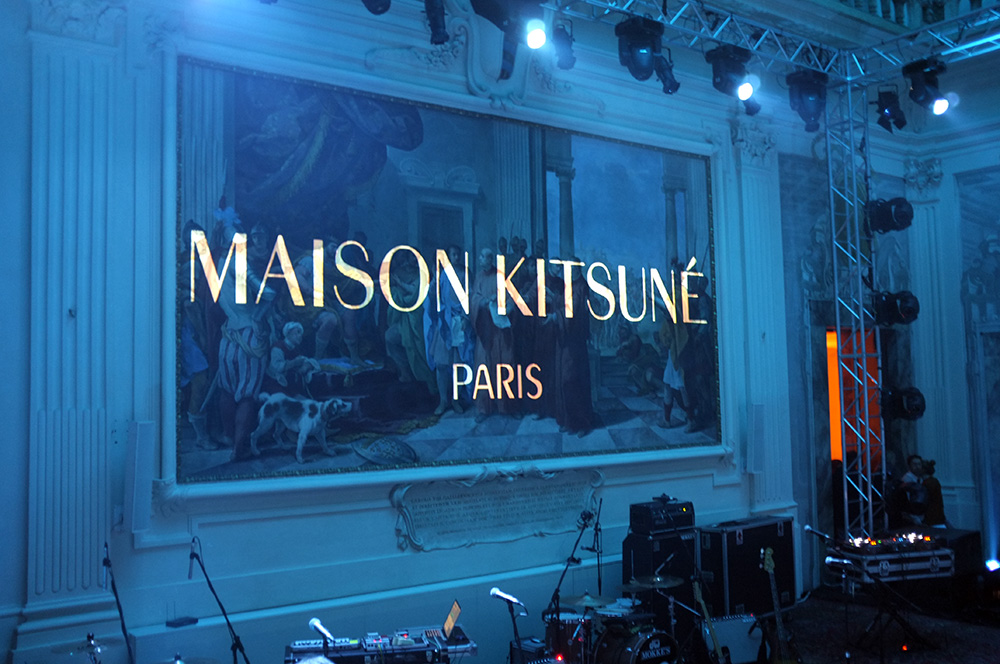 Maison Kitsune Fall Winter 2013 Presentation - Pitti Uomo 2