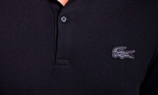 Lacoste Live for for Le Berlinois Black Polo Shirt
