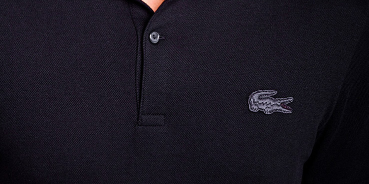 Lacoste Live for for Le Berlinois Black Polo Shirt 1