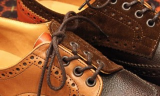 Nepenthes Multi Tone Brogue Shoes