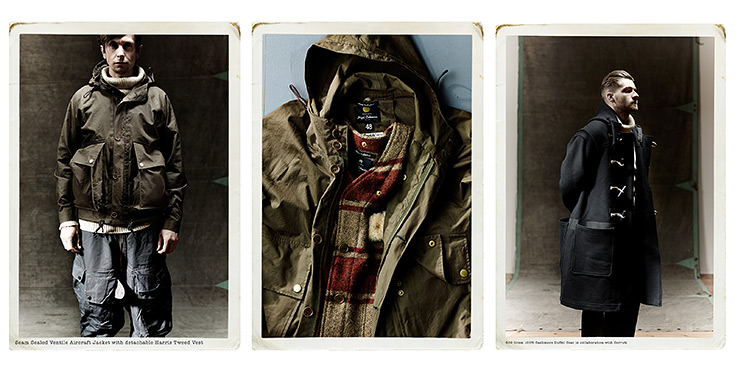 Nigel Cabourn Fall Winter 2013 featuring Lanificio Cerruti Fabrics 1