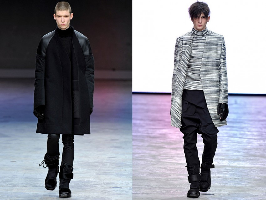 Rick Owens Clothing Fall 2013 - Street Goth