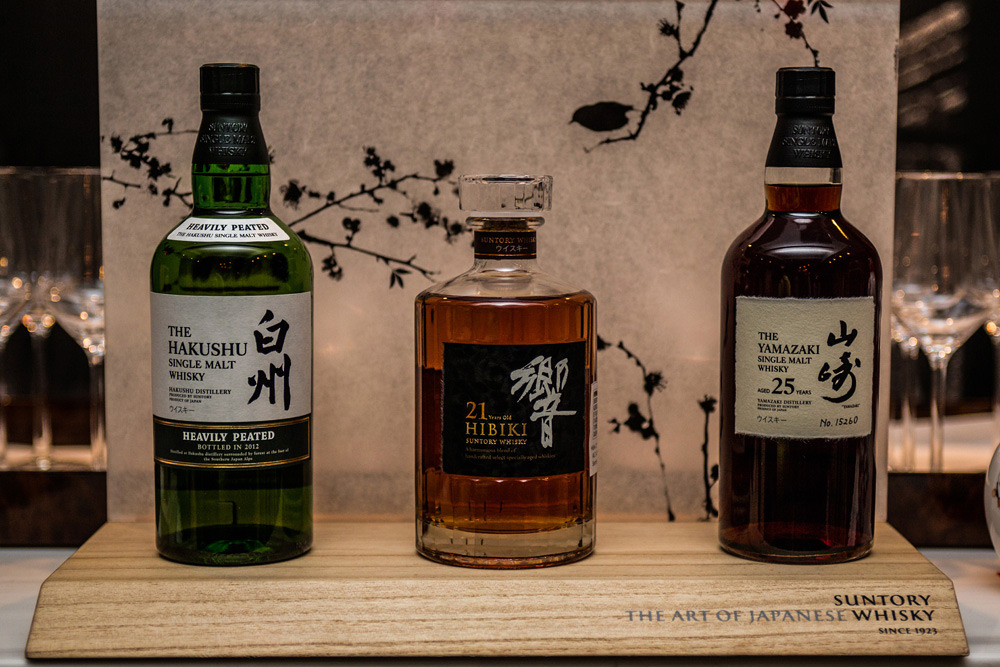A Suntory Whiskey Tasting in New York City 2