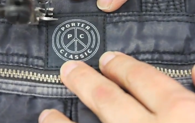Watch | Porter Classic Reveal The Making of Nylon   Creating the Indigo Collection