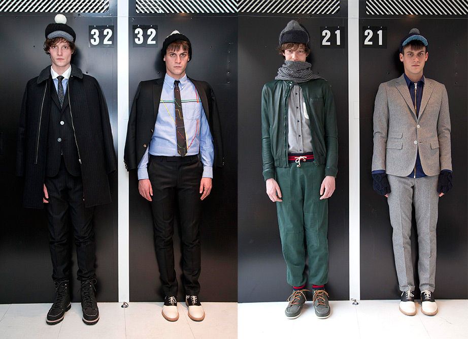 Band of Outsiders Fall Winter 2013 Looks 1