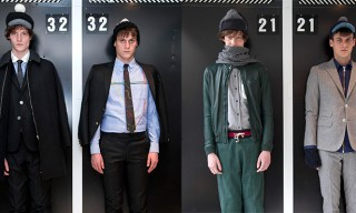 Band of Outsiders Fall Winter 2013 Looks