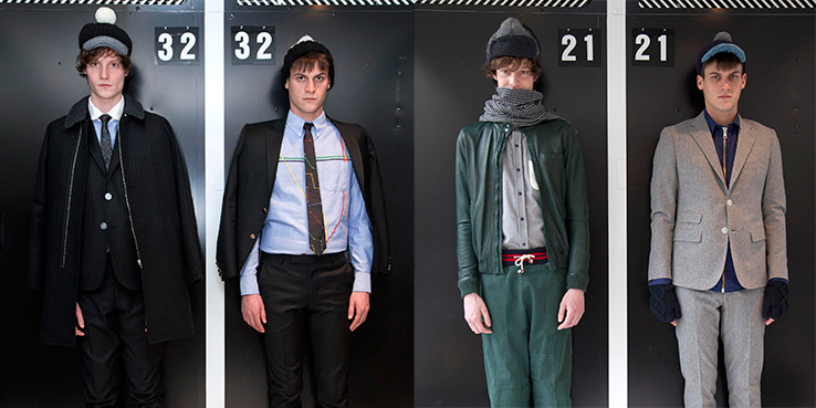 Band of Outsiders Fall Winter 2013 Looks 2