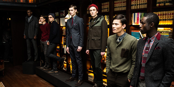 Bespoken Menswear Fall 2013 Collection 1