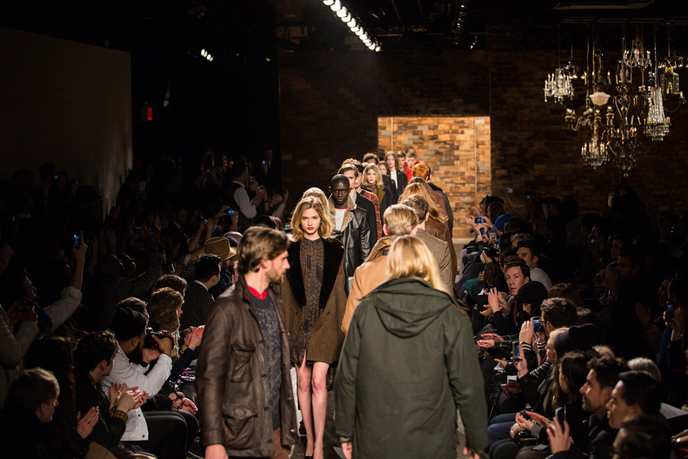 Billy Reid Mens and Womens collection Fall 2013 2
