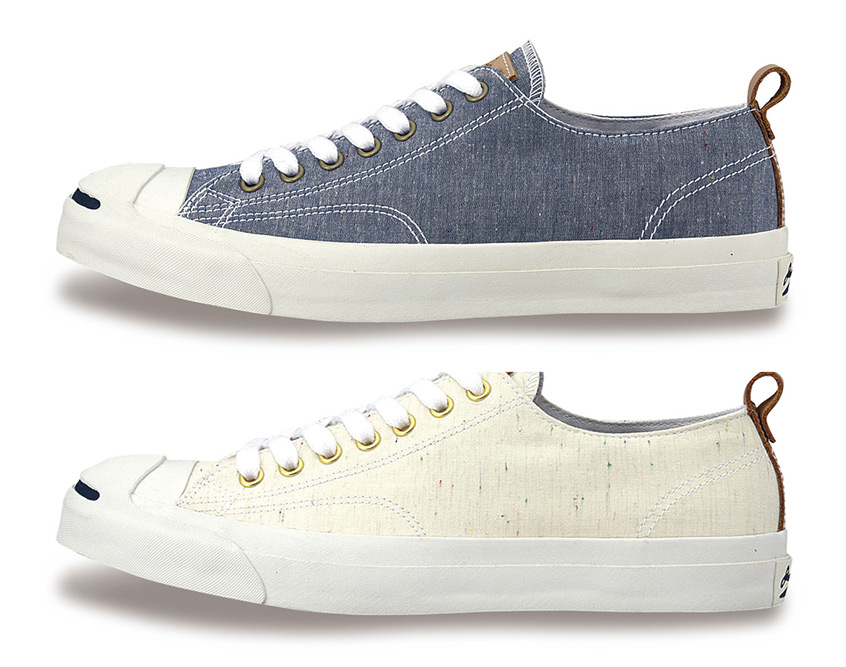 Converse Jack Purcell Sneakers in Chambray Fabrics 2