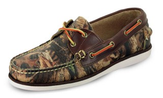 Eastland Made in Maine Realtree Camo Boat Shoe