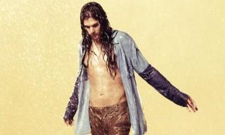 Edun 'African Shower' Spring Summer 2013 Campaign Shot by Ryan McGinley