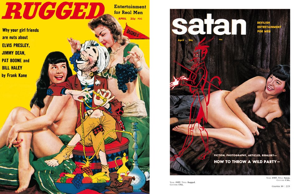 """Dian Hanson's History of Pin-up Magazines Vol. 1-3"" from Taschen Books 1"