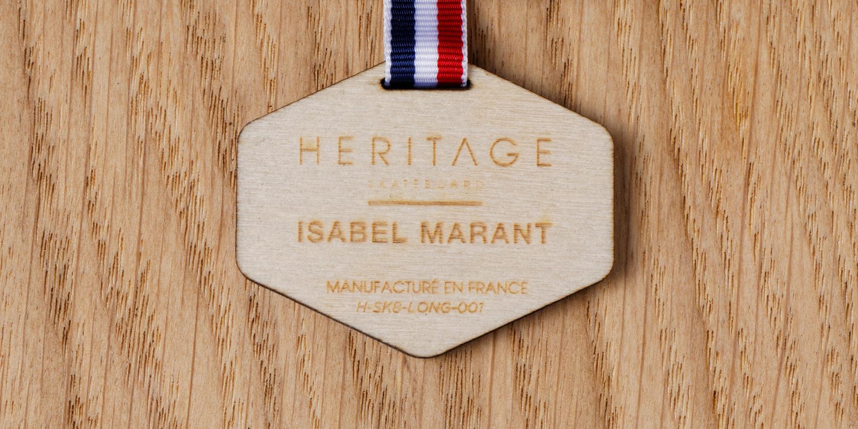 Isabel Marant Skateboards by Heritage Paris France