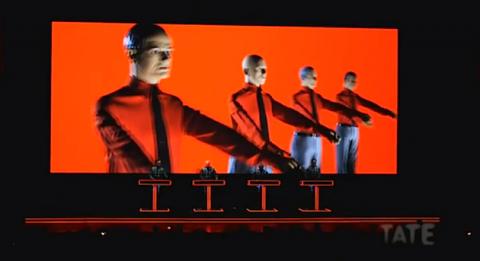 Kraftwerk Perform at Tate Modern, London