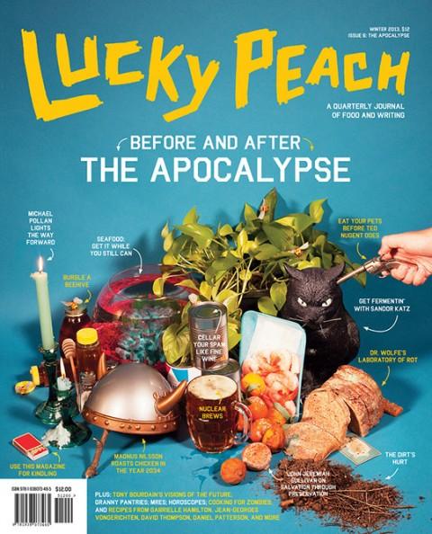 Lucky Peach Magazine #6 – Apocalypse Issue 1