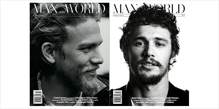 Man of the World Issue 2 James Franco Charlie Hunnam 2