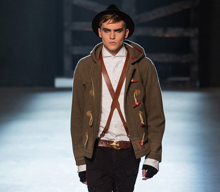 Michael Bastian Fall Winter 2013 Runway 2