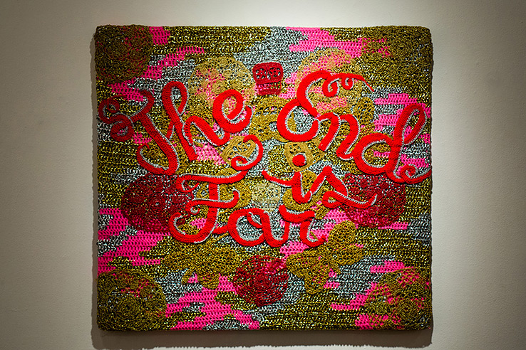 olek-at-jonathan-levine-exhibition-10