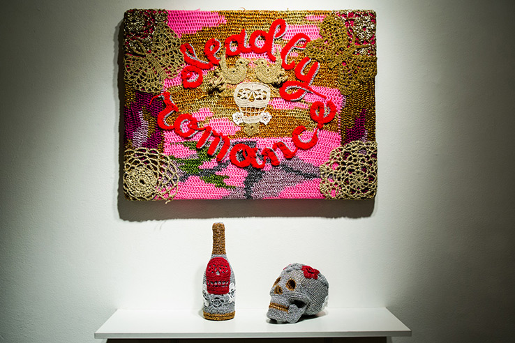 olek-at-jonathan-levine-exhibition-18
